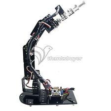6DOF Mechanical Robot Arm 3D Rotating Arm Robit Kit& Controller&MG996R Servo