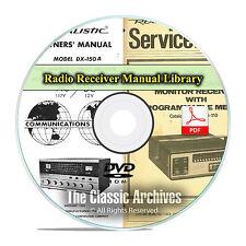 Vintage Radio Receiver, Transceiver, Scanner Manuals Schematics, Radio Shack F47