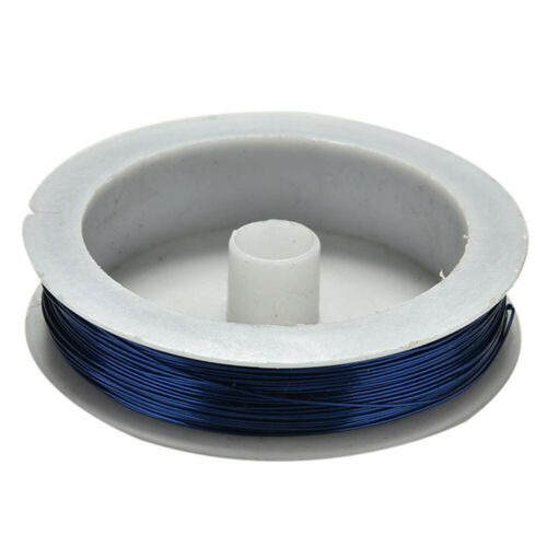 40m Iron Craft Wire Spool For DIY Jewelry Craft 0.5mm Soft String Metal Deco Art