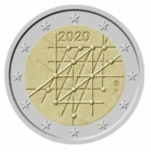 2 euro commémorative  Finland 2020 Universitè Turku  - Rouleau original !!!