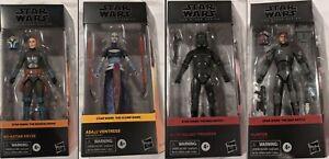 Star Wars The Black Series Bad Batch Trooper Bo-Katan Ventress PRE-Cptn Rex-Tech