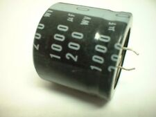 Nichicon 1000uf 200v 85 degree Snap Mount Electrolytic Capacitor 35mm D x 32mm H