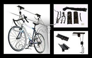 Elevador-de-bicicletas-Soporte-techo-garaje-para-colgar-Polipasto-cabrestante