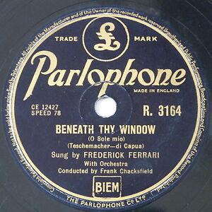 78-record-in-frame-BENEATH-THY-WINDOW-LA-DANZA-frederick-ferrari