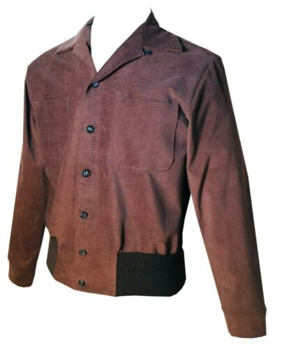 Men's Vintage Style Coats and Jackets    Swankys Vintage 1950s  Gaucho Small-2X $142.00 AT vintagedancer.com
