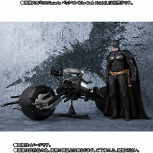 Batman-The-Dark-Knight-BATPOD-Bandai-Tamashii-S-H-Figuarts-Action-Figure-COMBO