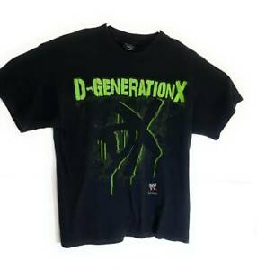 D-Generation-X-WWE-World-Wrestling-Entertainment-Hybrid-Mens-T-Shirt-Black-L