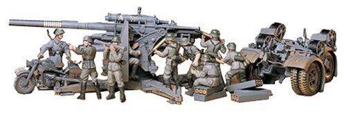 mas preferencial Tamiya 1 35 35 35 Alemán 88mm Pistola Artillería Antiaérea 36 37 con   Remolque  venta con alto descuento