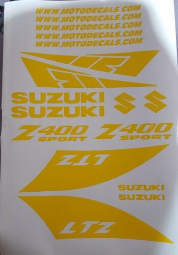 Sticker Decal Emblem Graphics Kit for LTZ400 LTZ 400 Quad Sport Plastic Fender