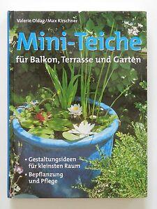 Mini Teiche Valerie Oldag Max Kirschner Balkon Terrasse Garten