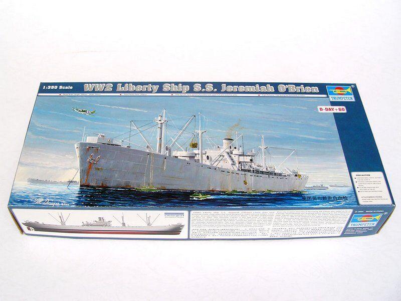 05301 Trumpeter 1 350 Liberty Ship SS Jeremiah O'Brien Kit DIY Boat Model