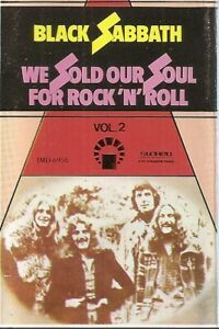 Black-Sabbath-We-Sold-Our-Soul-For-Rock-039-N-039-Roll-Vol-2-cassette-Import
