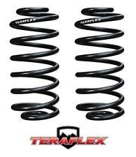 """TeraFlex 4/"""" Lift Rear Coil Springs Pair For 1997-2006 Jeep Wrangler TJ LJ"""