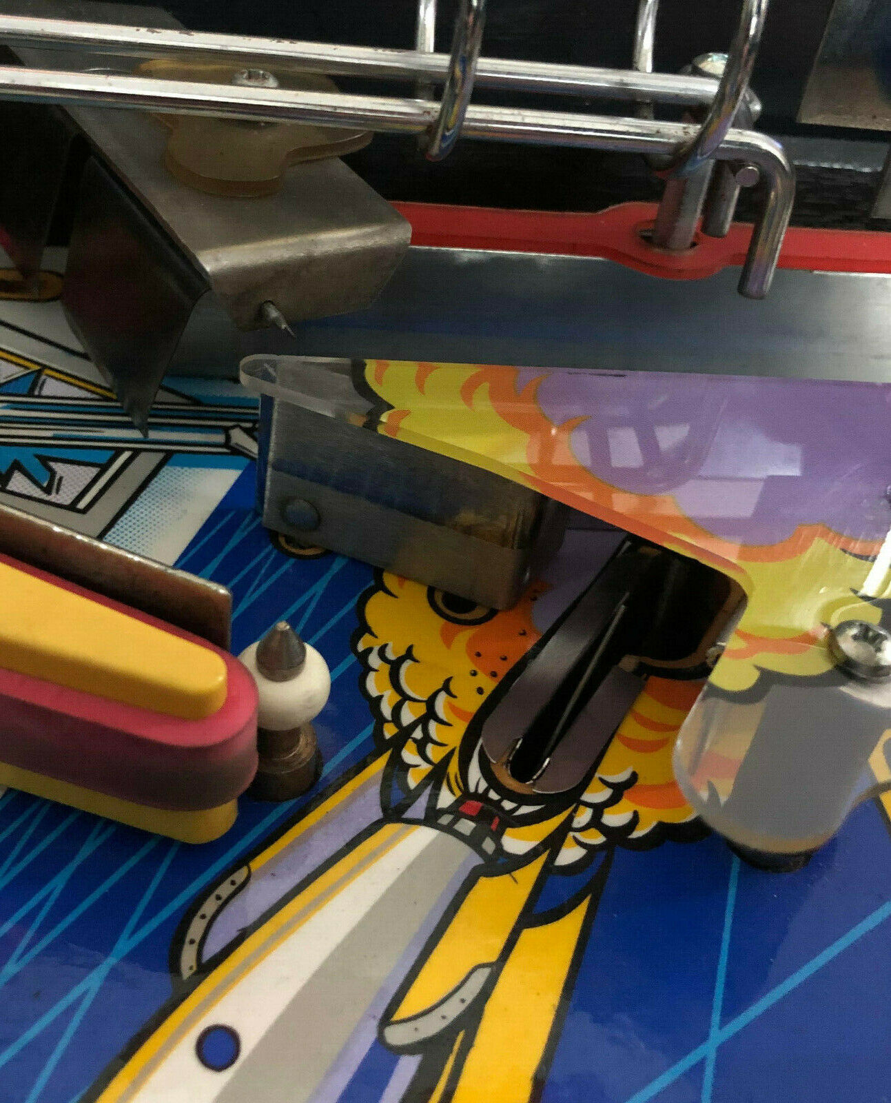 Twilight Zone 6 Piece Pinball Machine Plastic Protector Set PETG