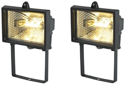 2-x-120W-Black-Aluminium-Outdoor-Security-Floodlight-Wall-Mounted-Mains-Powered