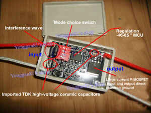 12V-24V-DEL-Frein-Stop-Lampe-Clignotant-Module-Flash-Strobe-Controller-16-mode