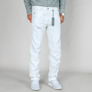 Diesel-Herren-Slim-Fit-Stretch-Jeans-Hose-Buster-0673Q-Dirty-Look-W33-L34
