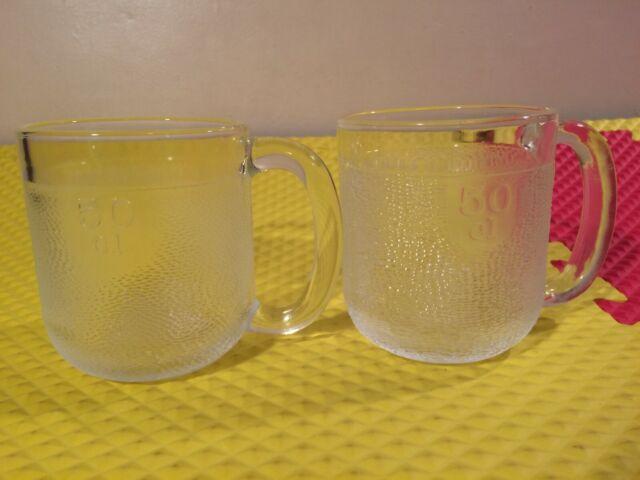 Vintage Iittala Krouvi Finland Glass 50cl Large Beer Stein Mugs Lot Of 4 For Sale Online Ebay