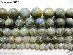 Natural-Labradorite-Gemstone-Round-Beads-15-5-039-039-2mm-3mm-4mm-6mm-8mm-10mm-12mm