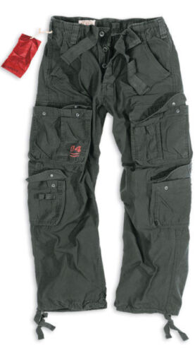 SURPLUS AIRBORNE TROUSERS RAW VINTAGE CARGO COMBAT PANTS NEW BAGGY ARMY