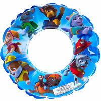 Paw Patrol Kids Inflatable Swim Ring With Repair Kit on sale
