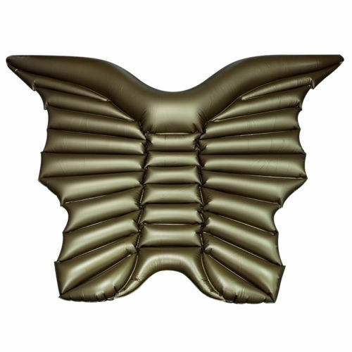 Giant Inflatable Angel Wing Swim Pool Float Lilo Beach Lounger Bed Toy Summer UK