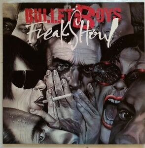 BULLETBOYS-Mint-1991-12-034-Vinyl-LP-039-Freak-Show-034-7599261681-Germany