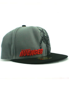 New-Era-Mighty-Thor-59fifty-Custom-Fitted-Hat-Size-7-1-2-Marvel-Avengers-Grey