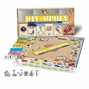 Late for the sky do it yourself opoly board game ebay stock photo solutioingenieria Gallery