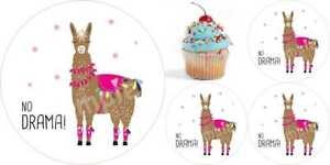 Not my Prob-lama  Muffinaufleger Cupcake Tortenaufleger Party Deko Geschenk neu