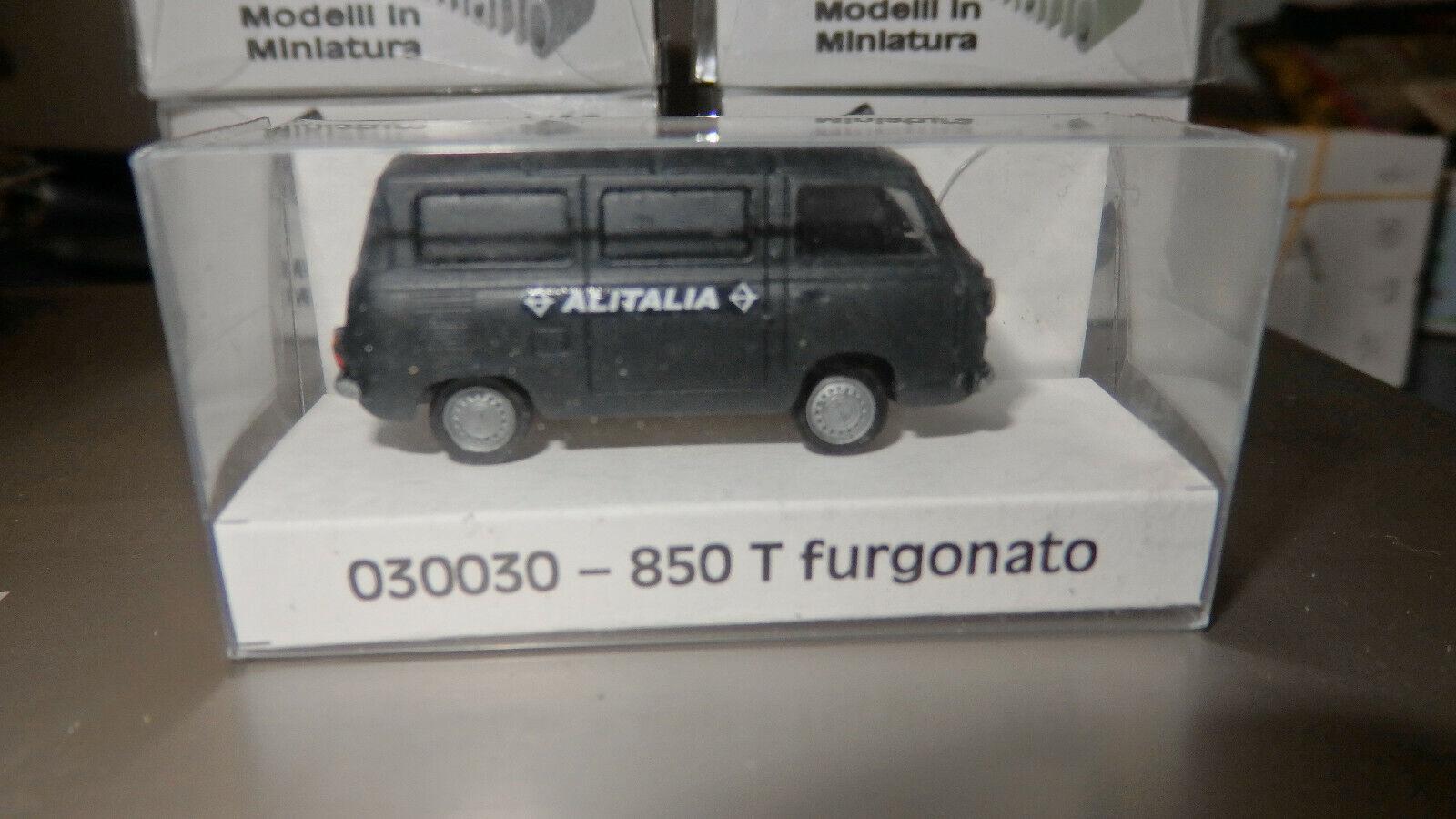 CO.MET 030030 FIAT 850T furgone Alitalia   1 87 HO