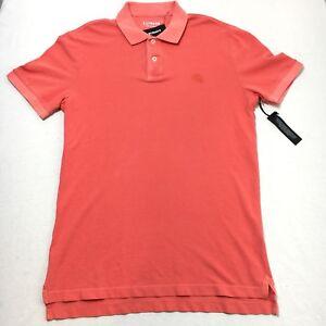 Express-Pique-Polo-Mens-XXL-TTG-Orange-100-Cotton-Short-Sleeve-Polo-Shirt