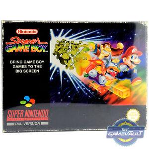 1 X Boîte Protecteur Pour Snes Super Game Boy En Plastique 0.5 Mm Display Case Nintendo-afficher Le Titre D'origine Poxugmbz-07190033-686997825