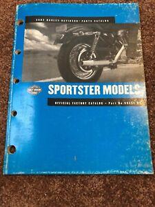 2002 Harley Davidson Sportster Motorcycle Parts Catalog Pn 99451 02 Ebay