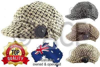 Ladies Hats Womens Hat Newsboy Classic Baker Boy Bakerboy Slouchy Gatsby Hat Cap