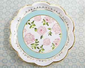 image is loading set of 24 tea time whimsy paper plates