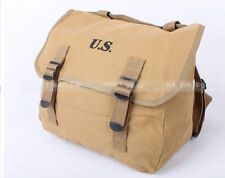 WWII WW2 US Army M1936 M36 Musette Field Bag Military Back Pack Haversack- US002