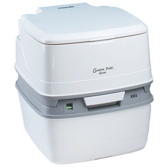 Thetford portátiles campa  potti XGL qube Cámping baño WC química baño nuevo  calidad oficial