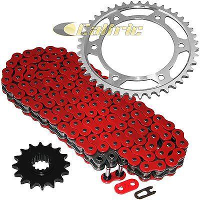 Red O-Ring Drive Chain & Sprockets Kit Fits HONDA CBR600RR 2003 2004 2005 06