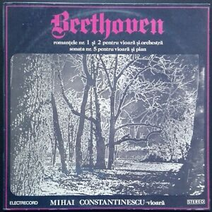 Beethoven - Violin Romances, CONSTANTINESCU, BUGEANU, Electrecord STEREO