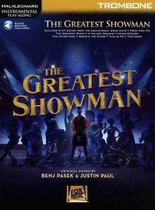 Bien The Greatest Showman Pour Trombone Instrumental Play-along Sheet Music Book/audio-afficher Le Titre D'origine