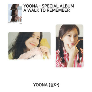 YOONA-Special-Album-A-Walk-To-Remember-Official-Photocard