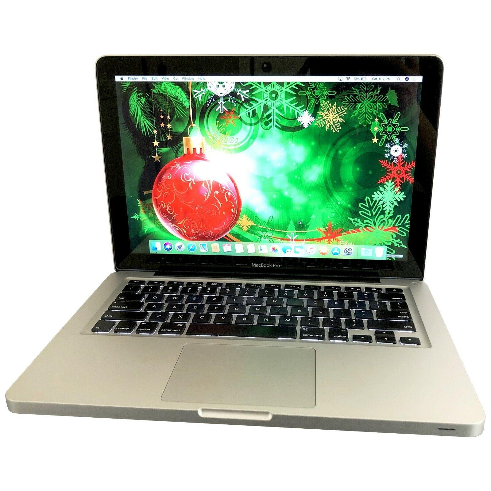 Apple Macbook Pro 13 Laptop / 8GB RAM 256GB SSD / 10.15 CATALINA + 2 YR WARRANTY. Buy it now for 449.99