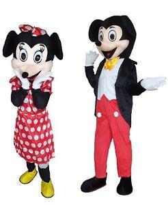 nuovo stile di vita nuovo arrivo donna Dettagli su mascotte topolino minnie costume carnevale adulti maschera  coppia singolo mickey