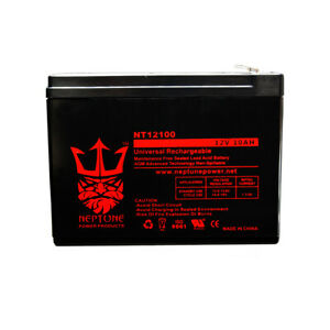 Power-Source-WP9-12-12V-10Ah-Replacement-Emergency-Lighting-Battery-by-Neptune