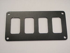 SWITCH PANEL BLACK PSBC41BK FITS 4 CARLING V-SERIES SWITCH BASES AND BREAKERS