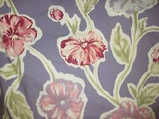Pottery Barn Purple Large Floral FULL/QUEEN Duvet Cover