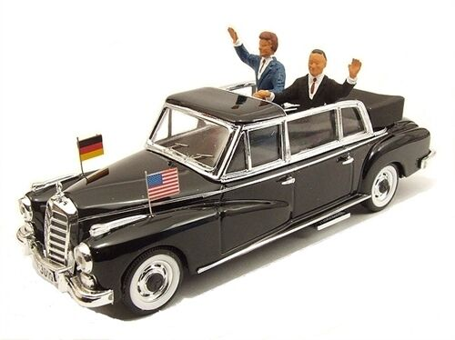 MERCEDES 300 1963 Kennedy Adenauer 1:43 MODEL rio4264p Rio