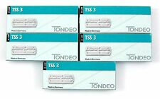 TONDEO 5 x 10 lange Klingen TSS 3 für Sifter Rasiermesser