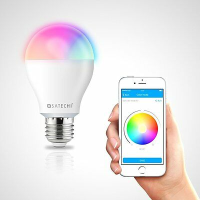 Satechi® Spectrum Bulb Bluetooth 4.0 RGBW Smart 8W LED Lightbulb